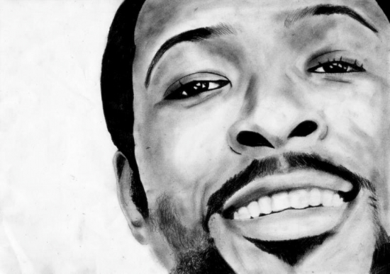Marvin Gaye by x-jorieke